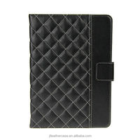 2014 Hot selling Luxury Design Pu Leather tablet case for ipad mini Popular leather case in korean marketing, samples