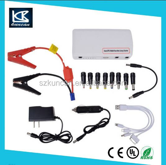 Car Battery Jumper Cables 12v 12000mAh Multifunction Jump Starter/Mini Car Booster