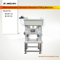 Semi Automatic Two Heads Acid Corrosion Resistant Filling Machine