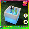 color changing Square acrylic led light ice bucket for wine,beer and champagne