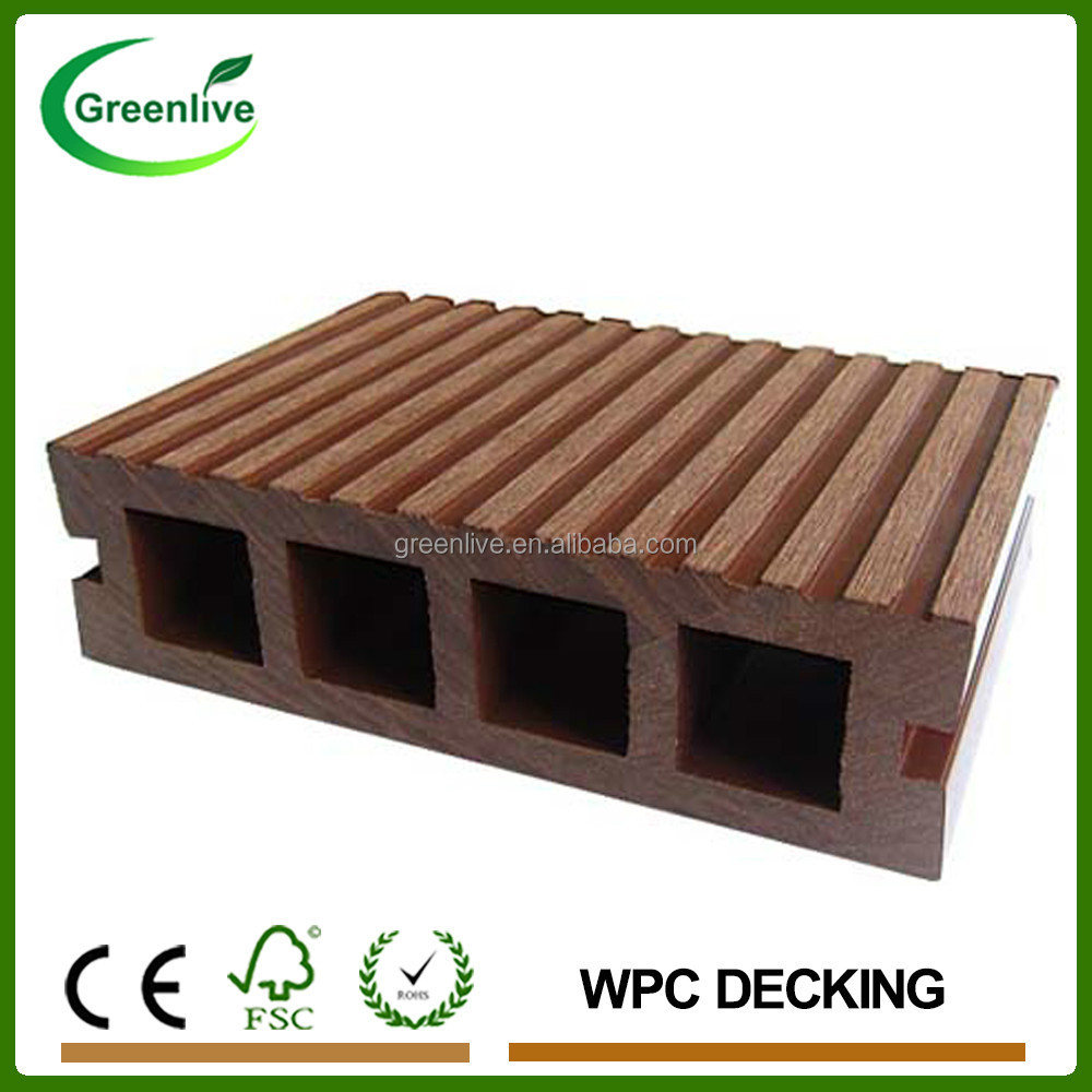 Hot sell Garden Path Anti-Slip Wood Plastic Composite WPC Decking