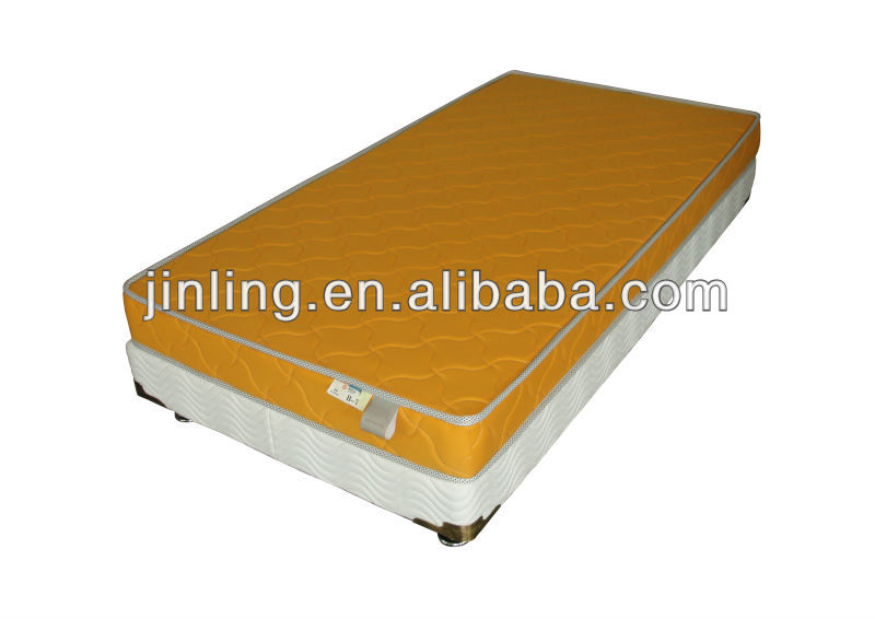 Bonnell spring mattress with soft foam in quilting