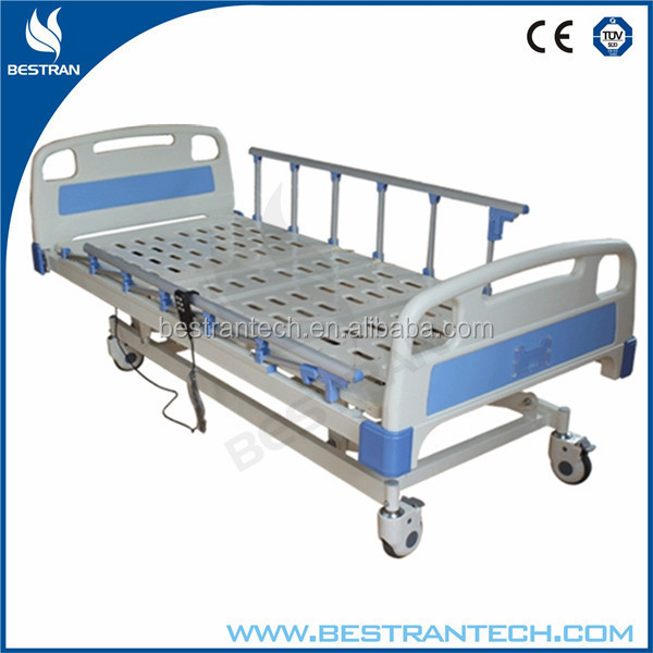 BT-AE105 6-rank Al-alloy Side Rails adjustable electric bed with three functions