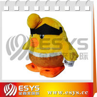 New design high quality lovely plush toy recordable sound made in China