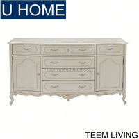 U HOME home furniture living room french style cabinet antique chinese medicine cabinet