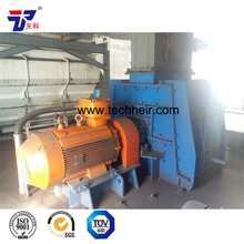 Non-reversible Hammer mill and hammer crusher for quicklime production