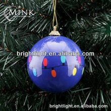 2013 best-selling decorative blue christmas ball