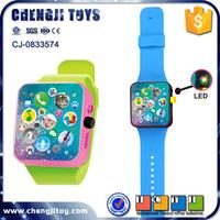 Unique electronic russian educational toys plastic kids wrist watch