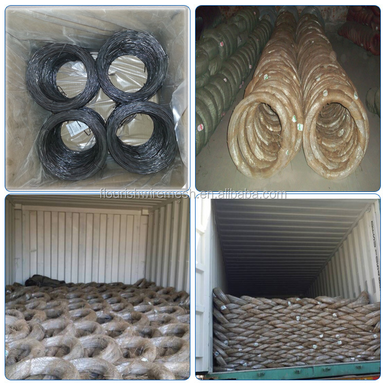 factory 18 gauge black annealed iron wire in construction