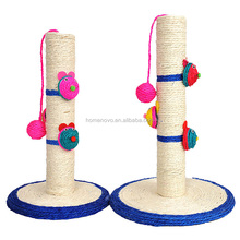 Natural Sisal Fabric Pet Toys Cat Scratch Post