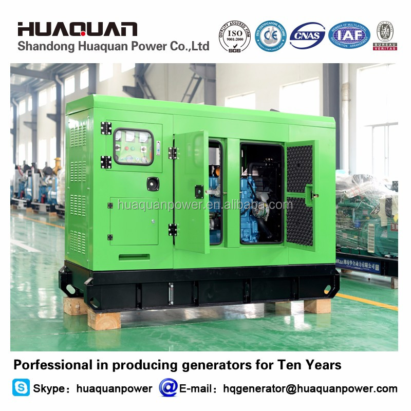 K4100D diesel engine soundproof generator set