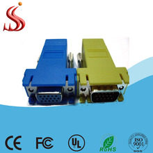 Wholesale colourful DB15 to RJ45 Connector Adapter