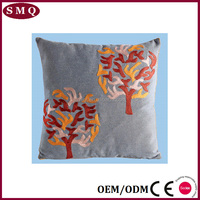 18x18 Cotton Linen Machine Embroidery wholesale Cushion Covers