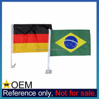 Manufacturer Wholesale Promotional Cheap Custom Made Polyester Car Flag