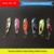 Super Mini Spoons for Ice Fishing With VMC Hooks wholesale Fishing Lures Spoons