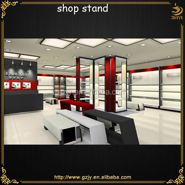 High-grade racks for decoration for shoe shop and furniture used for shoes stores