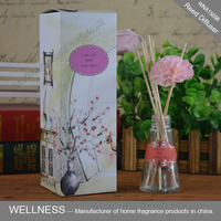 wholesale natural sola flower aroma reed diffuser