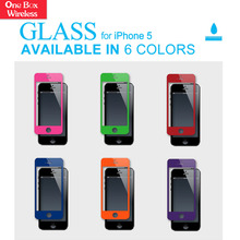 2016 Top Quality 9H 2.5D 0.3Mm Nano Tech Premium Tempered Glass Screen Protector for iPhone 5 5S