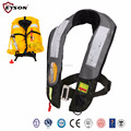 Portable inflatable life vests