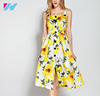 wholesale spaghetti strap dress summer ladies fashion printed sexy elegant high quality casual dress