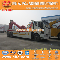 FAW J6 30ton heavy duty rotator wrecker towing truck