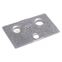 Custom Stamping SUS430 1.0mm Thickness Rectangle Brackets