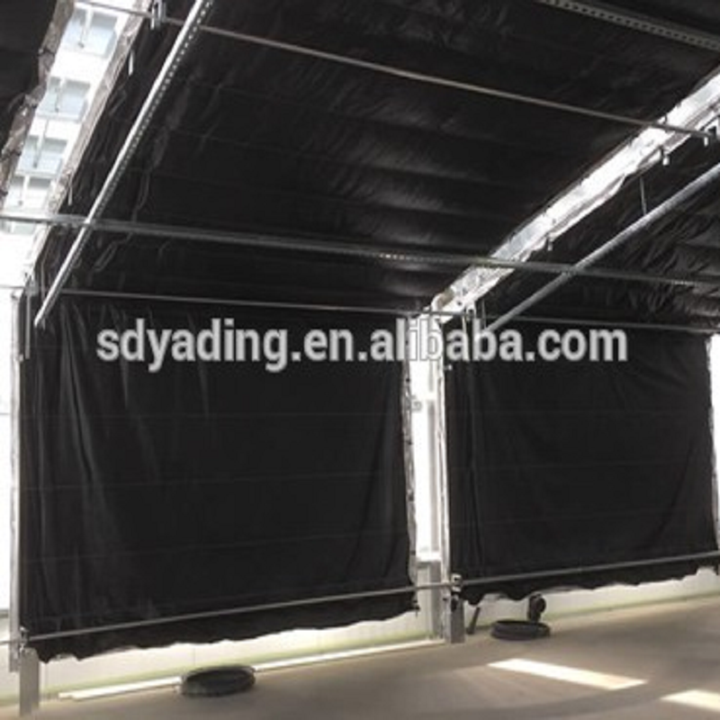 Top quality film covering automatic light deprivation Blackout greenhouse