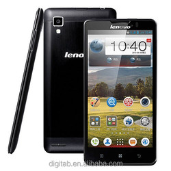 Original Lenovo P780 5.0 inch Quad Core Smart Phone 1GB RAM 4GB ROM 8MP 4000mAh Dual Sim 3G WCDMA Android 4.2 Mobile Phone