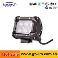 Hot Sale Super Bright 4 Inch 18W Wholesale Offroad mini projector led driving light bars motorcycle headlight bulb