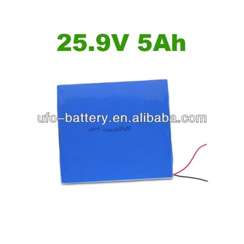 Portable Computer Battery 25.9v 5Ah 7s1p Battery Pack