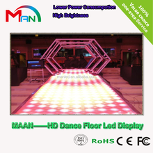 Shenzhen Maan HOT HD Korea video outdoor P3.91 P4.81 LED dance floor LED display screen with best price