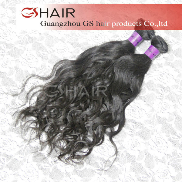 arrived 2013 best selling products shedding free soft natural black can be permed hair beauty products