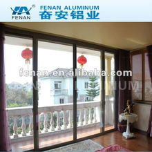 High quality hardware folding door&bi folding door /Double glazing aluminium folding door / Aluminum&Wood folding door