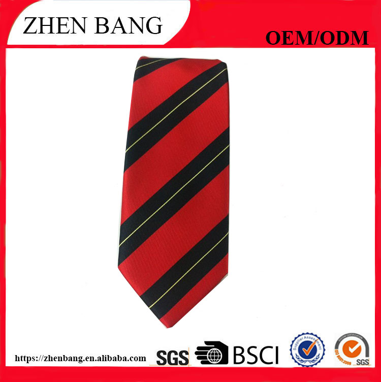 2017 Factory Custom and design embroidered silk knitted men necktie