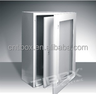 IP 65 steel sheet metal enclosure for dust and water proof
