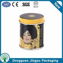 Professional Cmyk/Pms Printing Decorative Coffee Round Tin Cans