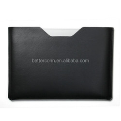 Black PU Leather Sleeve Bag Case Cover For 13 Retina MacBook Pro