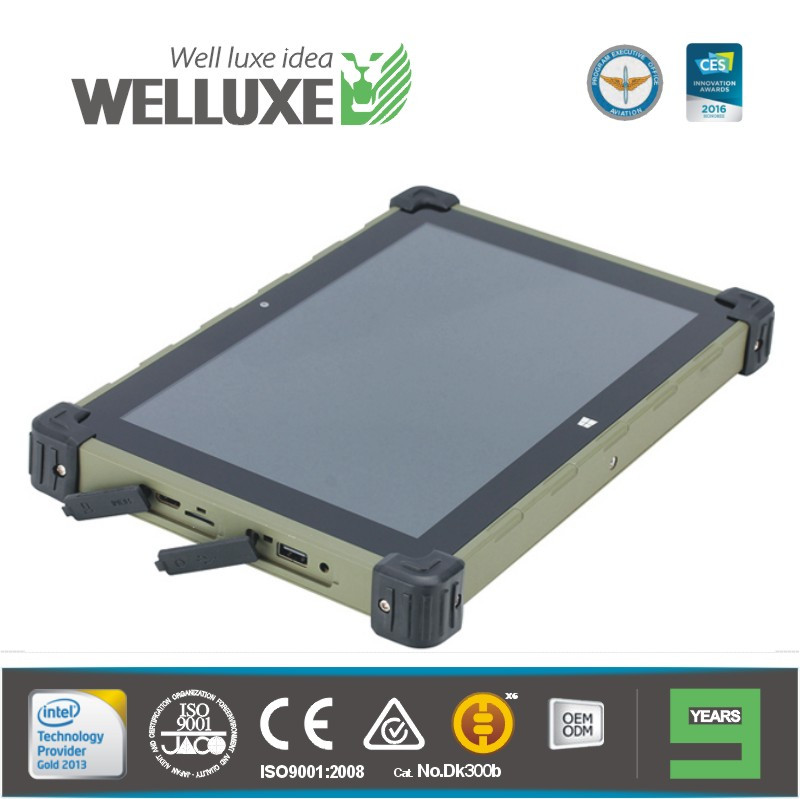 "WELLUXE CT2010 10"" Rugged Tablets and Rugged Notebooks meet rigorous military-standard (win 10 Linux Centos or Ubuntu OS )"