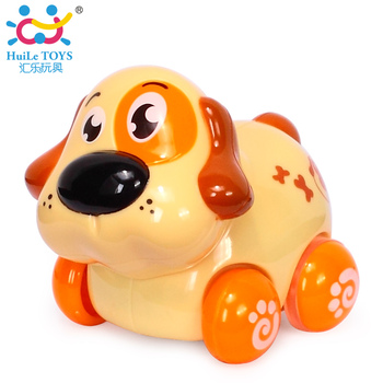 2017 Best Selling Huile Toys Friction Toy With 8 Animals