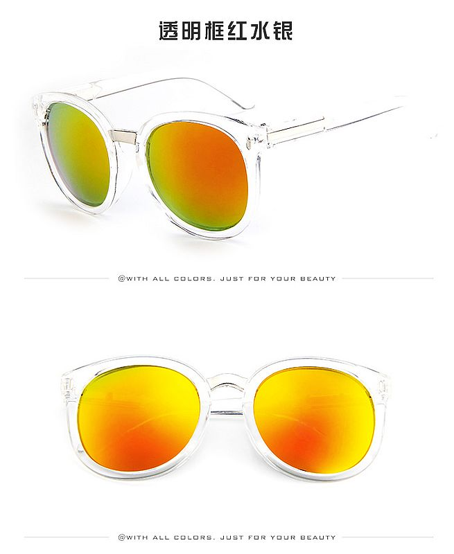 hot sale summer lady designer fashionable sunglasses colorful women men glasses