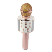 2018 Best quality handheld usb charger phone vocal microphone record bluetooth microphone wireless microphone