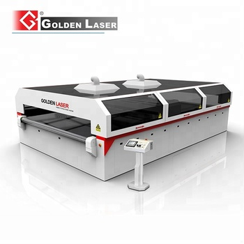 Polyester Filter Fleece Laser Cutter with Auto Feeding