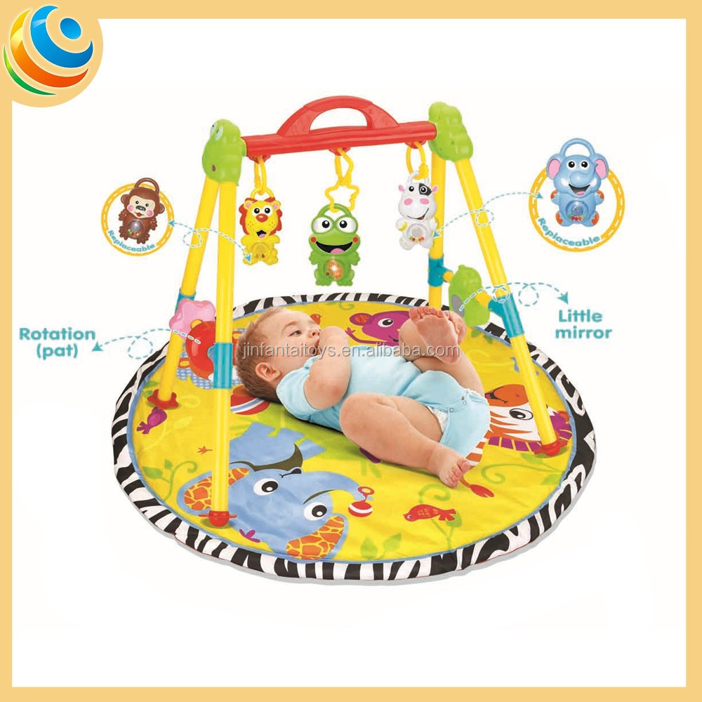 Crib gym for babies -  Strong Baby Strong Blanket Toy New Born Strong Baby