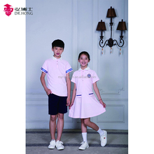 Wholesale summer kids school uniforms with good price