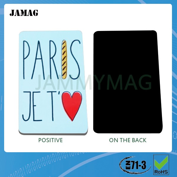 Best price paper fridge magnet for customized