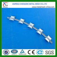 BTO & CBT low price galvanized concertina razor barbed wire