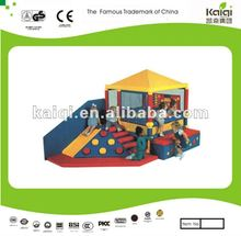 Commercial Soft Indoor Play Games with Slide & Climber for Toddler Area