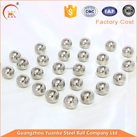 "Yuanke steel ball factory Price Good Quality AISI 201 5/16"" 7.938mm Stainless Steel Ball"