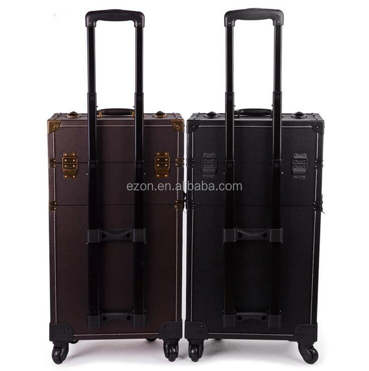 aluminum tool luggage case detachable trolley handle for travelling bag carry on tool case bag case brief handle telescopic
