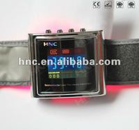 2014 Hot Selling Wrist Watch with Low Level Laser Therapy for Hypertension Diabetes and Rhinitis